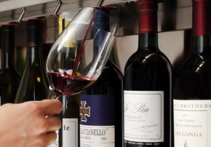 Comparativa de dispensadors de vinos por copa