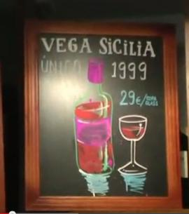 Pinkleton and Wine - Vega Sicilia por copa