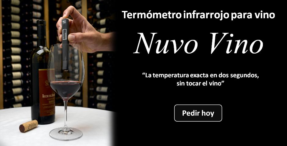 El mejor termómetro infrarrojo para vino