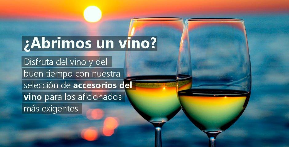 Accesorios de vino para disfrutar y regalar